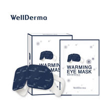 [Wellderma] Warming Steam Eye Mask Pack 1box (10sheets + Stickers) Relaxing