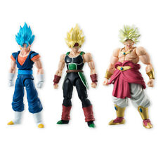 Bandai Dragonball Shodo 5 SSGSS Vegetto, SS Bardock, Shouting Broly Set of 3