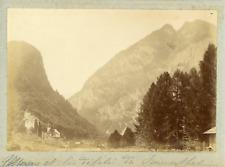 Suisse, Alpes bernoises, Simmental, ca.1900, vintage citrate print Vintage citra