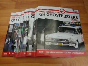 EAGLEMOSS BUILD THE GHOSTBUSTERS ECTO-1 CAR EVERY ISSUE - MAGAZINES ONLY