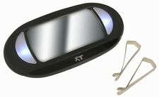 Lighted Car Sun Visor Vanity Mirror with LED Light