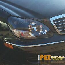 (S-CLASS) 2000-2005 Mercedes Benz W220 S430/S500/S600 Projector Black Headlights