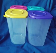 New Tupperware Fresh 'N Cool Set Of 4 - 1.5 L Containers Plus Free Gift! OBO