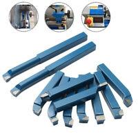 11x10mm(3/8'') Mini Metal Lathe Tool Set Carbide Tip Cutting Turning   &cn& √
