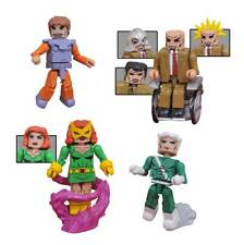2017 MARVEL DIAMOND MINIMATES X-MEN VS BROTHERHOOD BOX SET OF 4 FIGURES MIP