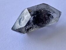 9.6g Tibetan Enhydro + Carbon Quartz Crystal Specimen Hematite incl. + Rainbows