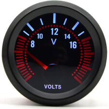 52mm AGG-1 Smoked Volt Voltage Gauge Meter