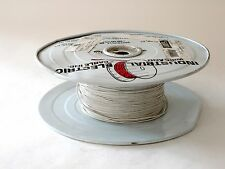 22 AWG 300 V STRANDED UL 1569 TIN PLATED COPPER WIRE, 1000 FT, WHITE