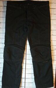 "Vanucci Mens Motorcycle Trousers Jeans 58 / 38"" waist 34"" inside leg Dry gate"