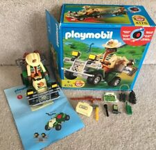 Playmobil 4176 Explorer / Researcher Quad Bike Vehicle With Box & Instructions