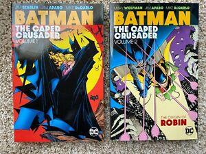 BATMAN - THE CAPED CRUSADER Volumes 1 & 2 DC Comics