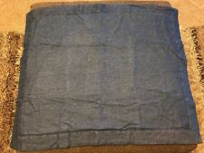 Jcp Home Denim Standard Pillow Sham 21�x27� Blue Denim