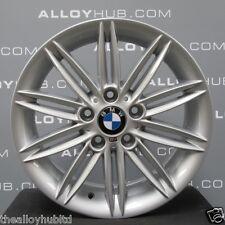 """GENUINE BMW 1 SERIES 207 M SPORT 17""""INCH SILVER ALLOY WHEELS X4, E81,E82,E87,E88"""