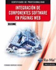 INTEGRACION COMPONENTES SOFTWARE PAGINAS WEB (MF0951_2). ENVÍO URGENTE (ESPAÑA)