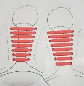 Kids Adult No Tie Shoe Laces Silicone Elastic Shoelaces Children Trainers Shoes