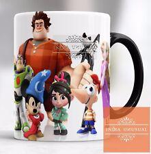 Cartoon Buzz Lightyear Mickey Magic Color Changing Coffee Mug Christmas Gift