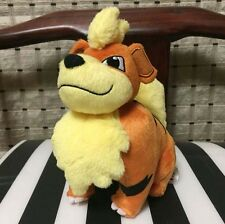 "Pokemon GROWLITHE Rare Exclusive OFFICIAL TOMY Licensed 8"" Plush Doll"