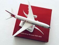 Qantas 787-9 100th Anniversary Diecast Metal Plane Model Wheels & Stand 18.5 cm