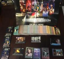 GALACTIC FILES Ser 2 STAR WARS Master Set : 410 Cards + Poster/Box/Wrappers