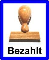 Zahlbar innerhalb 30 Tagen LE-ONs® Holzstempel Prof.-Serie L42