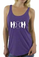 Baseball MOM Racerback Tank Tops Sport Mom Gifts for Her Mother's Day