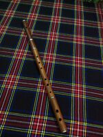 Professional D Flute Rosewood Natural Finish with Free Wooden Hard Case
