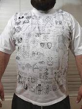 BLINDED BY SCIENCE Test Answer T-Shirt 2XL Double Sided Anatomy