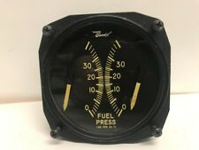 Bendix  Magnesyn Dual Indicator - Fuel Pressure Gauge - Aircraft/Aviation Parts
