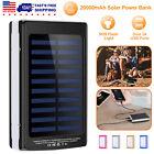 2000000mAh Solar Power Bank SOS LED Dual USB Backup Battery Charger for Phone