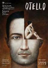 Polish poster by Rafal Olbinski Otello Shakespeare