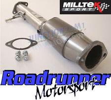 "Milltek Focus St 225 3"" carrera Gato Hi flujo 200 celdas de acero inoxidable 3 in (approx. 7.62 cm) Deportes Cat"