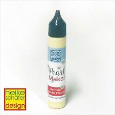 Pearl Maker - Perle aus der Flasche in Zart Gelb -25ml -Neu-  Heike Schäfer
