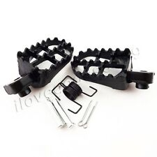Aluminium Footrest Foot Pegs For Yamaha PW 50 80 PW50 PW80 TW200 Dirt Bikes