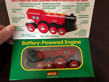 thomas and friends Wooden Railway 1999 BRIO ACTION LOCOMOTIVE Rare New In Box