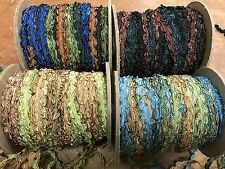 "Ric Rac Rayon Ombre 1/4"" RicRac Hand Dyed 1yd Made in USA"