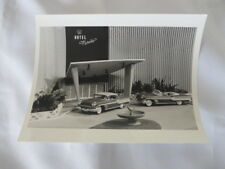 1959 Pontiac Photograph - Scale Model Cars Used in TV Commercials - Vintage