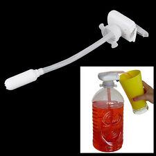 Electric Automatic Magic Tap Water Drink Beverage Juice Dispenser Spill Proof