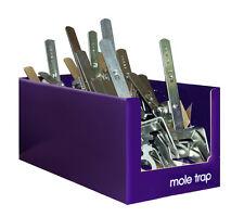 Confezione da 4 TALPE Claw trappola nuovo pro veloce Quick & Easy TALPE Control KILL NO VELENO STV