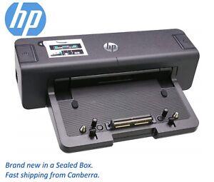 New Genuine HP 90W Laptop Docking Station With AC Adapter Elitebook USB 3.0