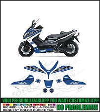 kit adesivi stickers compatibili  tmax 2008 - 2011 race concept