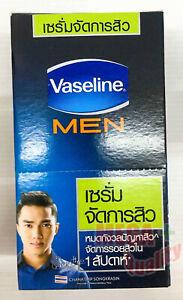 VASELINE Men Anti Acne Serum.Solve acne problems in 1 week  7 g x 6