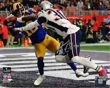 Jason McCourty New England Patriots Signed 8x10 Photo SB 53 Endzone JSA