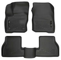 Husky Liners 2016-2018 ford Focus / Focus ST WeatherBeater Combo Black F&R 99771