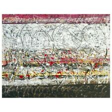 Tancredi Abstract Painting, C. 1955 (Pollock, Kooning, Motherwell, Cy, Kooning)