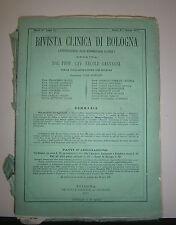 Galvagni#RIVISTA CLINICA DI BOLOGNA#Serie 2 Anno 7 Genn./Dicembre 1877-Completa