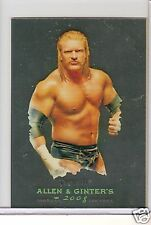 WWE Heritage III Chrome Trading Card Triple H # 4 - Allen & Ginter's