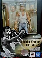 Freddie Mercury Queen Last Tour Bohemian Rapsody - Bandai SH Figuarts 15cm