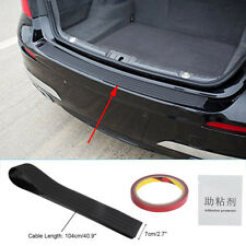 104cm Car Rear Bumper Protector Guard Sill Rubber Prevent Scratch Cover Plate