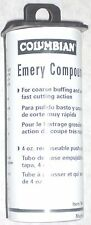 Columbian 59119 Emory Compound Removes Fine Scratches 4oz USA Made