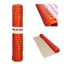 ALEKO Multipurpose Safety Fence Barrier 3x330 Feet PVC Mesh Net Guard Orange